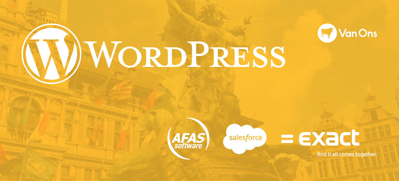 WordCamp Antwerp Koppelingen WordPress