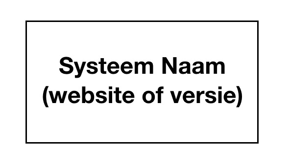 systeem use case